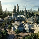 An aerial view of what Star Wars: Galaxy's Edge will look like.