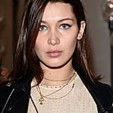 Bella Hadid With Straight Hair in 2014