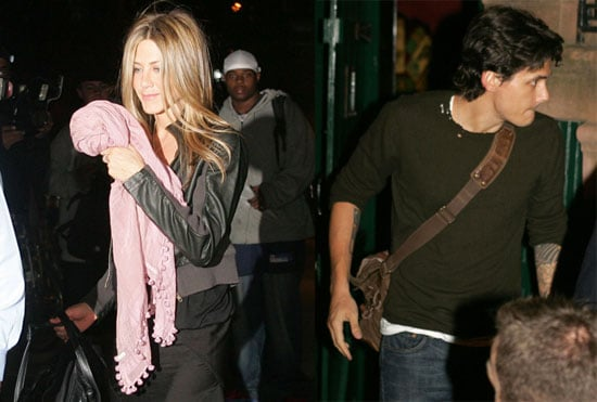 Photos of John Mayer and Jennifer Aniston Together in NYC