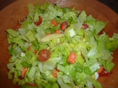 Chopped Salad with Chicken and Apples