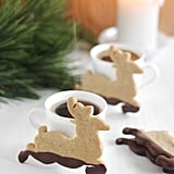 Dipped Rudolph Cookies