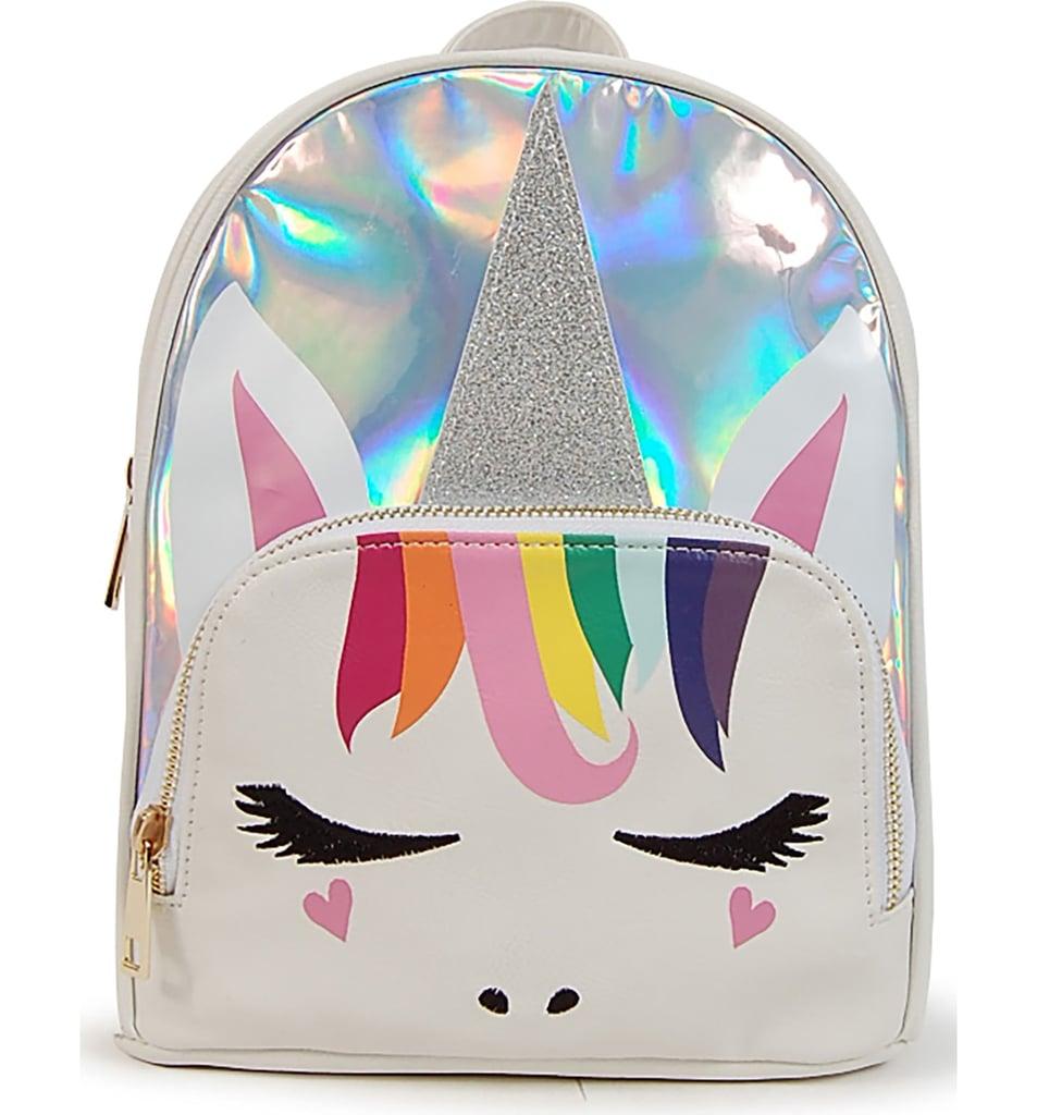 Omg Silver Unicorn Backpack Cute Backpacks For Kids 2018