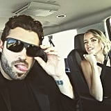 """ESPYs with @kaitlynn_carter,"" Brody captioned this photo and himself and his girlfriend."