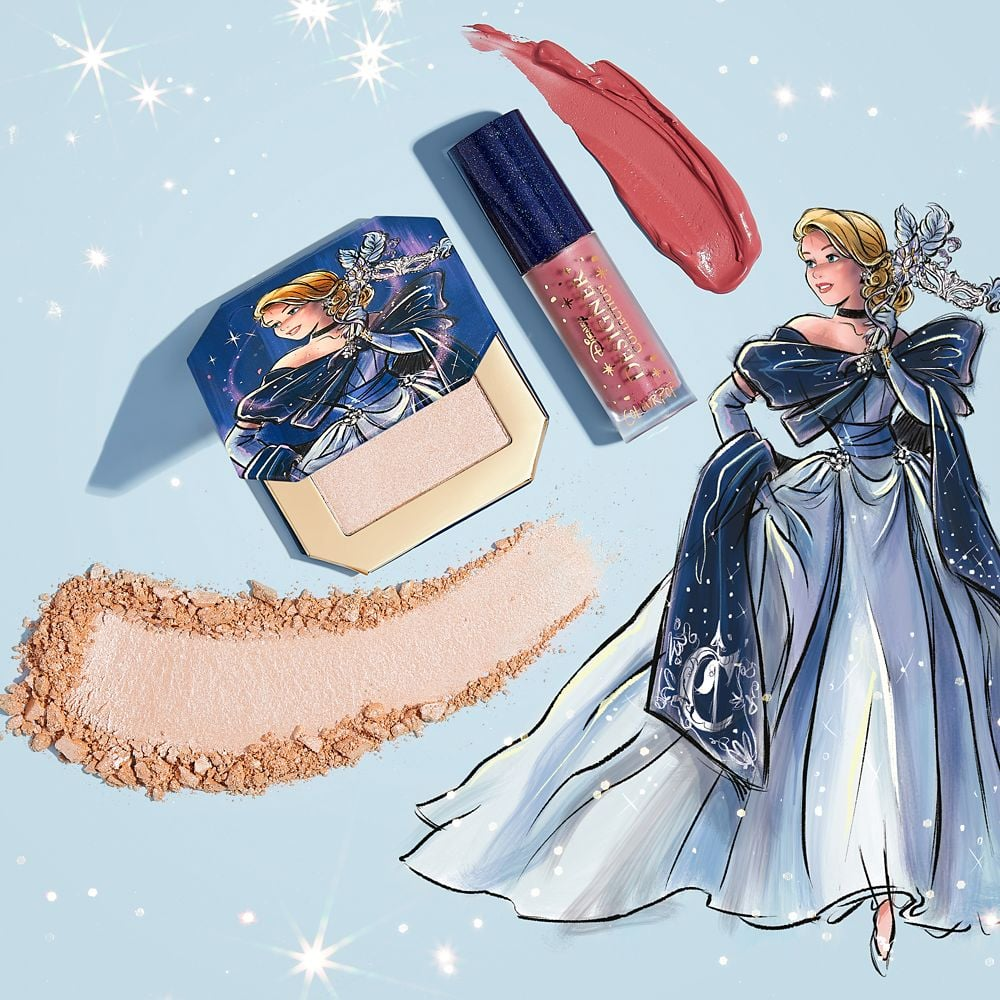 Disney Designer Collection Midnight Masquerade Series Cinderella Bundle by ColourPop
