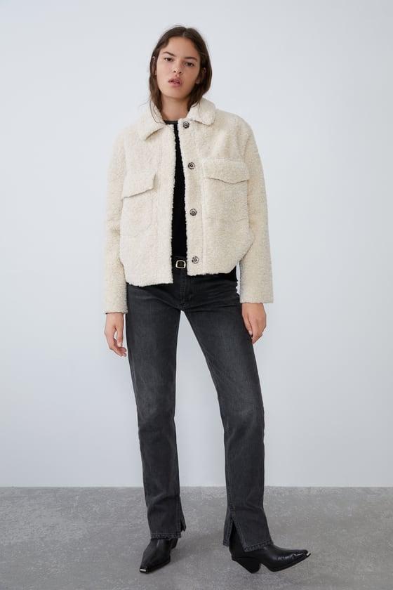 Zara Double Faced Jacket