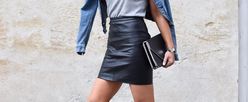 How to Style a Leather Skirt Ideas