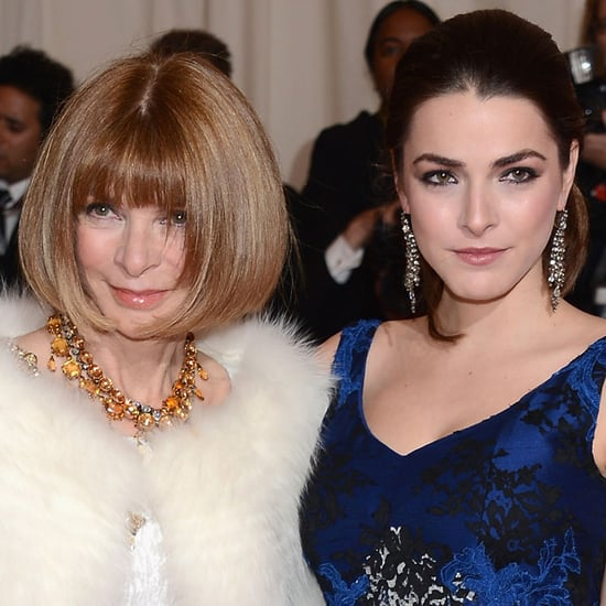 Anna Wintour and Bee Shaffer at the 2012 Met Costume Institute Gala