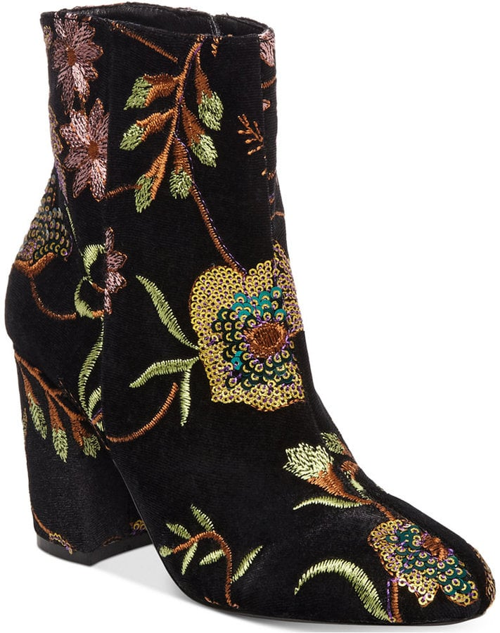 fe2ef9f29ef Steven by Steve Madden Embroidered Booties | Rosie Huntington ...