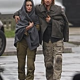 Brad Pitt filmed World War Z in London.