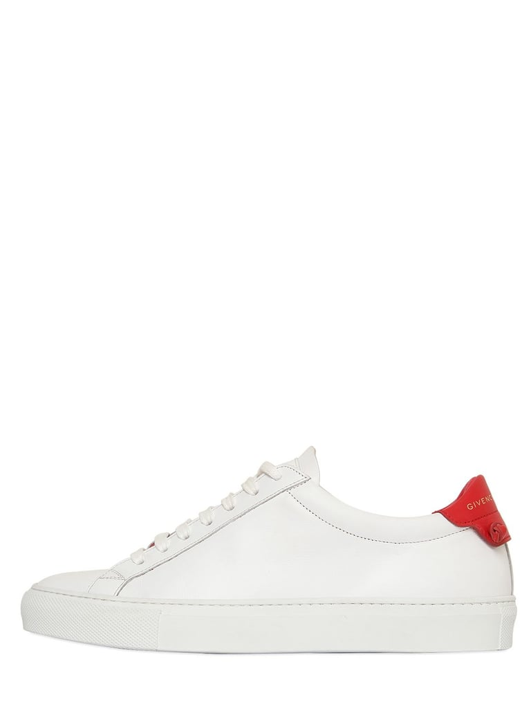 And White Kendall Sneakers Urban Leather Red Jenner Givenchy Knot F0UTn