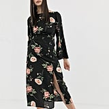 Fashion Union Backless Midi Dress