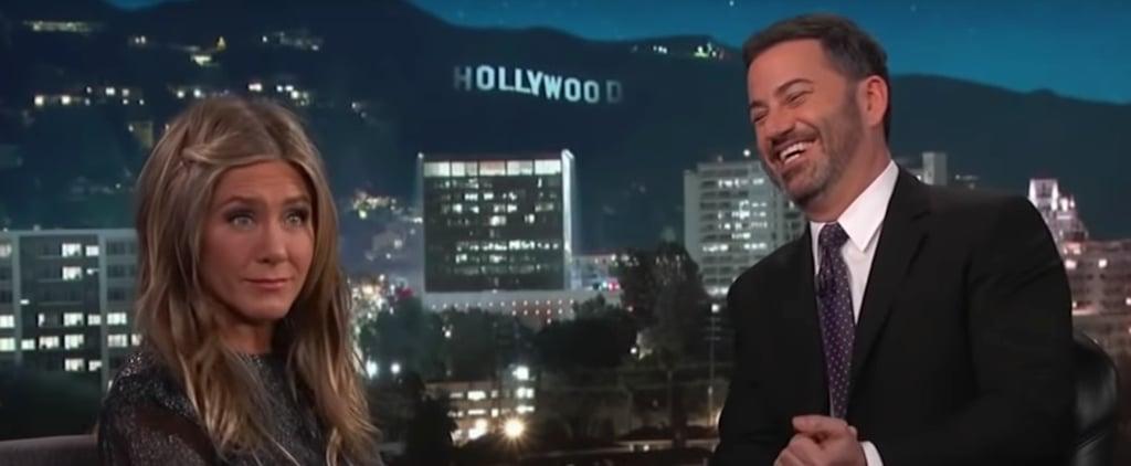 Jennifer Aniston on Jimmy Kimmel Live 2018 Videos