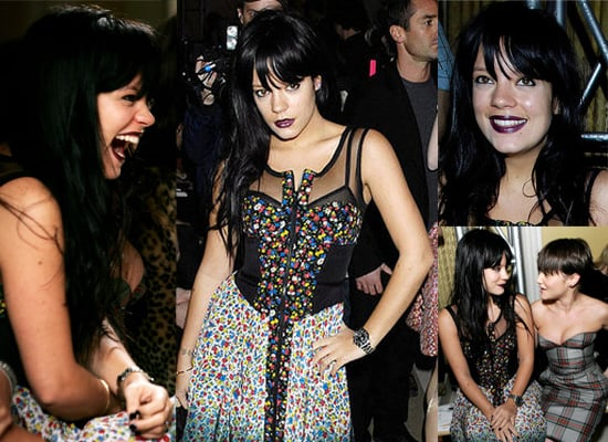 Lily Allen at Luella for London Fashion Week