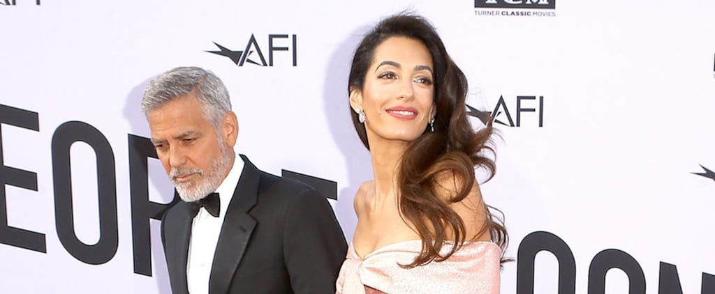 Amal Clooney Sexy Shoes