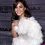 Vanessa Hudgens's Feather Dress at the Bad Boys Premiere