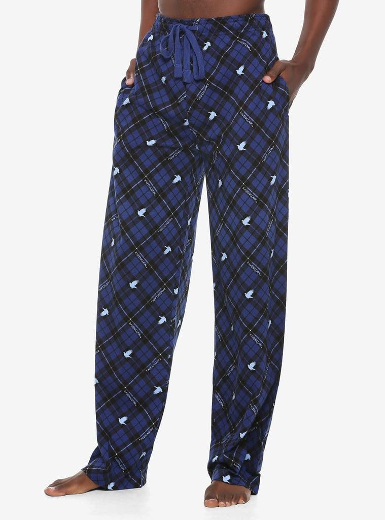 Harry Potter Ravenclaw Plaid Pajama Pants