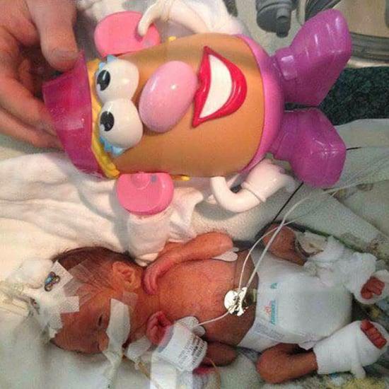 Mr. Potato Head Dolls in the NICU