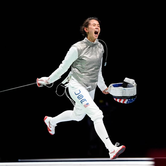 See Lee Kiefer Make History With Olympic Gold Fencing Win