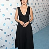 Selena Gomez Black Dior Dress We Day 2019