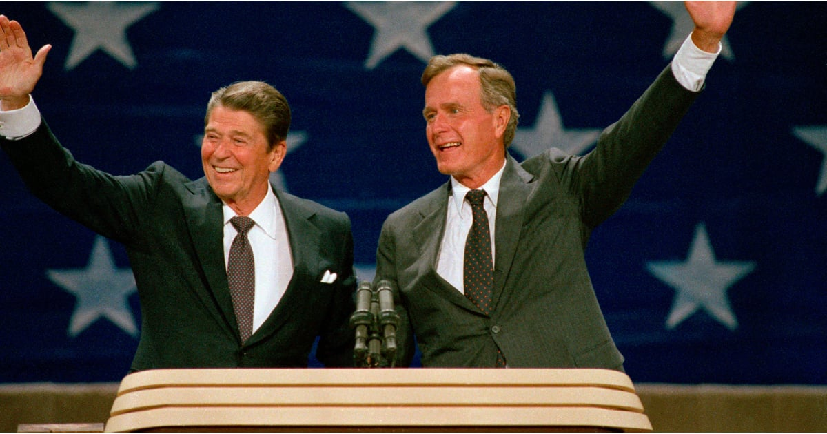 George H W Bush And Ronald Reagan On Immigration 1980