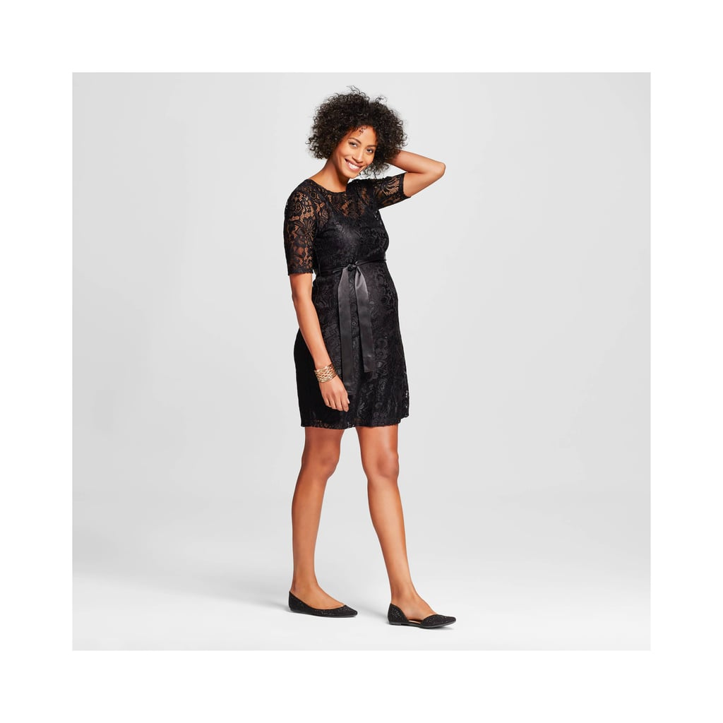37b96b626bb16 Target's Holiday Maternity Dress | Best Products For Babies and Kids ...
