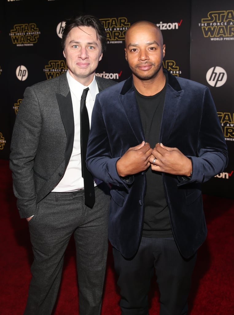 Donald Faison chose his BFF and former Scrubs costar Zach Braff to be the godfather to son Rocco and daughter Wilder, who he shares with wife CaCee Cobb.