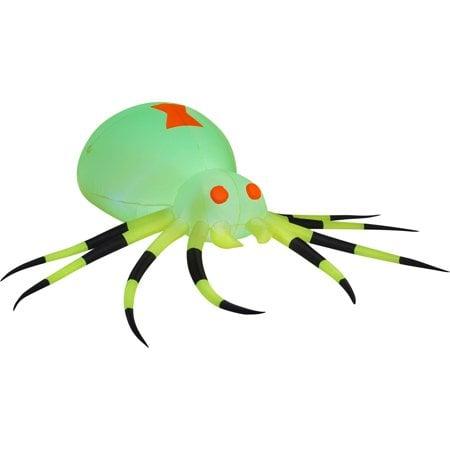 Giant Neon Green Spider