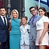 Kelly Ripa and Mark Consuelos Family Pictures