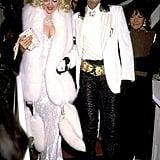 Madonna at the 1991 Academy Awards