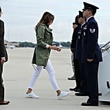 The FLOTUS Also Wore Her Favorite Sneakers, Adidas Stan Smiths
