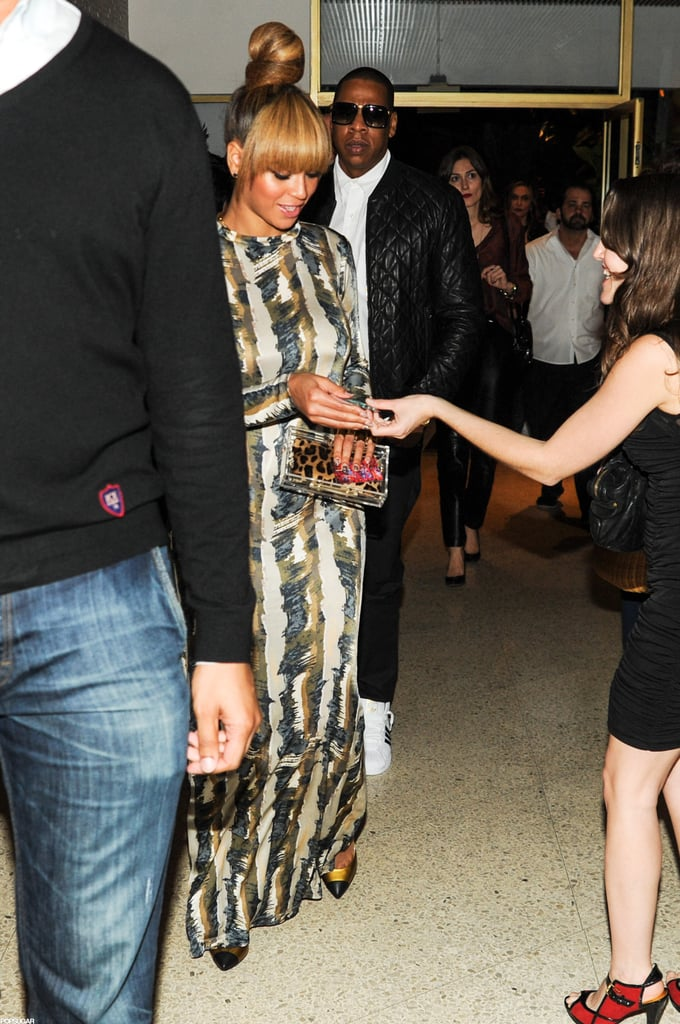Beyoncé and Jay-Z Party Together During an Artsy Miami Trip