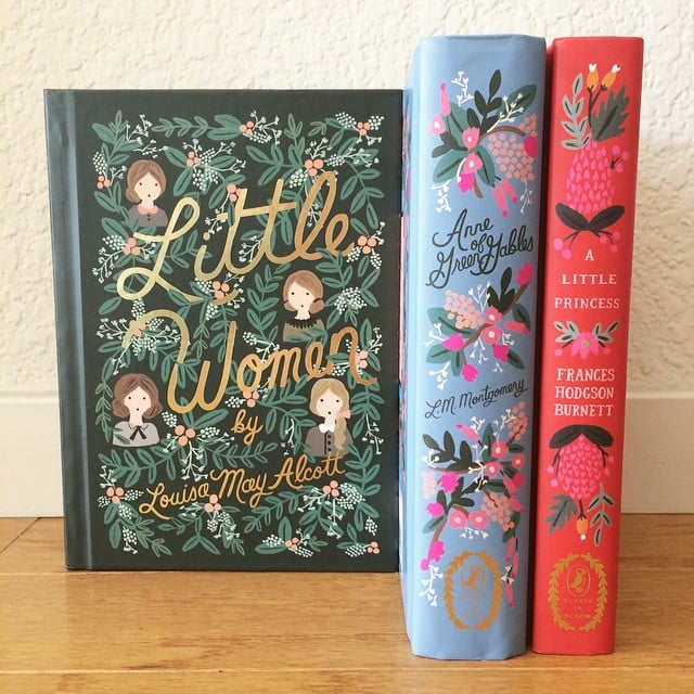 """""""It was a small, budget-conscious Christmas this year, but I got something that I've wanted for a long time. Aren't these classic novels (complete with Rifle Paper Co. illustrations) gorgeous?"""""""