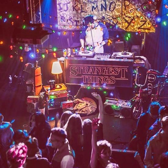 Stranger Things-Inspired Club