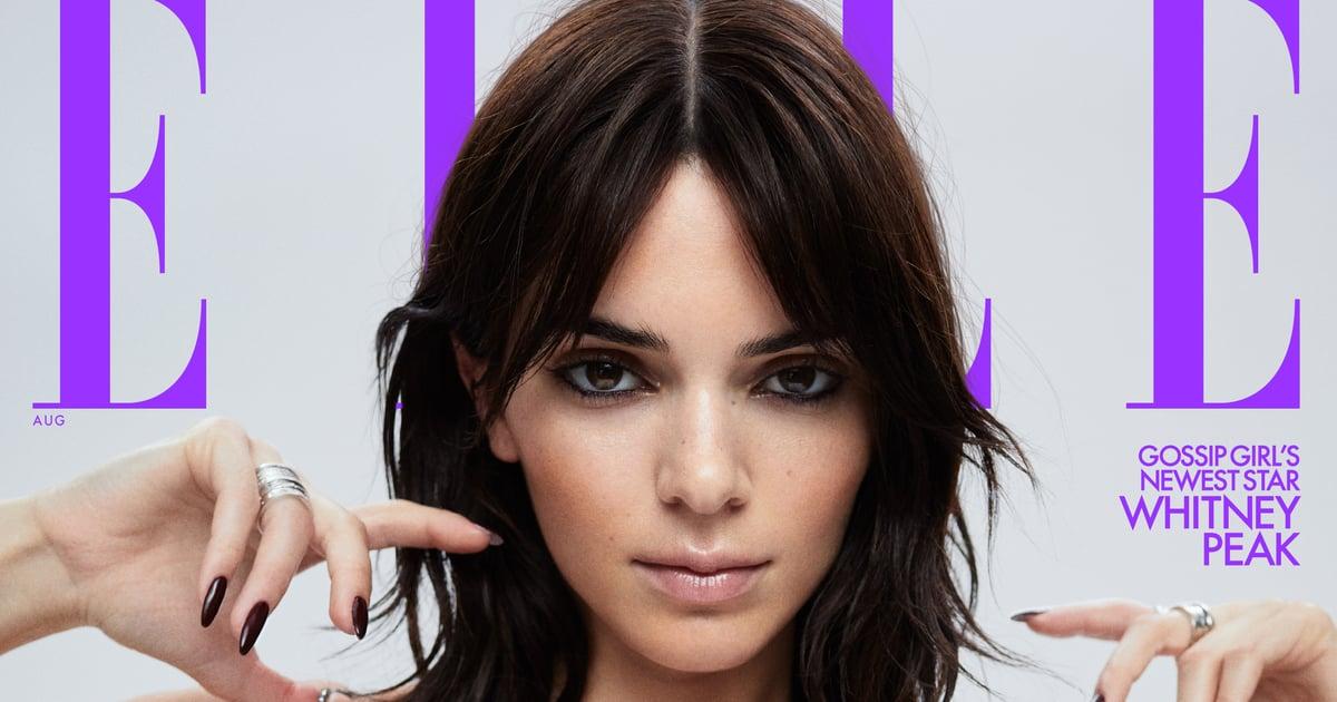 Kendall Jenner Covered Elle Magazine Wearing One of TikTok's Favorite Retro Hairstyles.jpg
