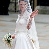 Kate Wearing a Tiara During Her Wedding in 2011