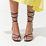 9bdca417f76 River Island Black Caged Sandals | Best Black Heels For Women ...