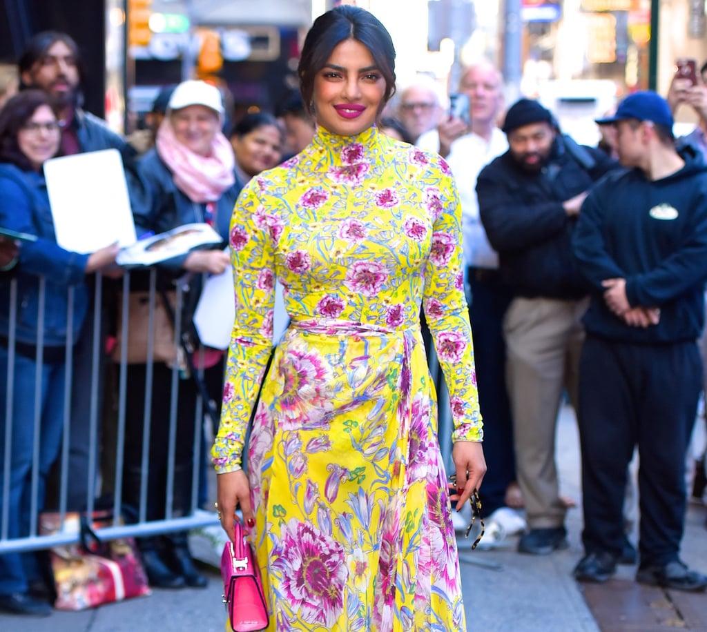 priyanka chopra outfit at the royal wedding 2018 | popsugar fashion uk