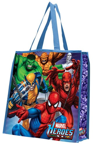 Marvel Heroes reusable gift bag ($6)