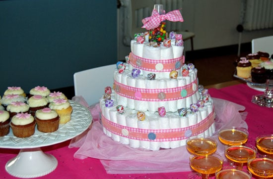 Diaper Cake Made With Candy