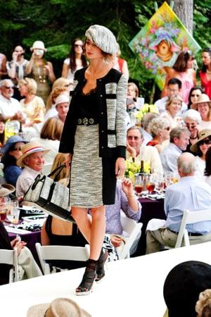 Oscar de la Renta Lake Tahoe Fashion Show Luncheon 2009