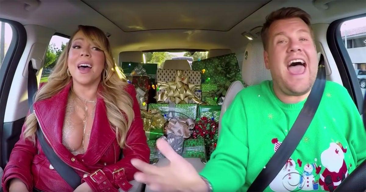 James Corden's Christmas Gift to the World? A Holiday-Themed Carpool Karaoke With Mariah Carey!