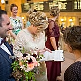 Wedding at Grand Central Station