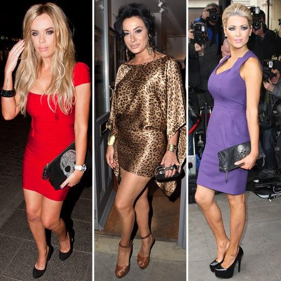 Nicola McLean, Maria Fowler, Nancy Dell'Olio Skull Bag Trend