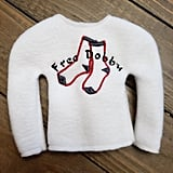 """Free Dobby"" Elf on the Shelf Sweater"