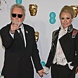 Pictured: Roger Taylor and Sarina Taylor