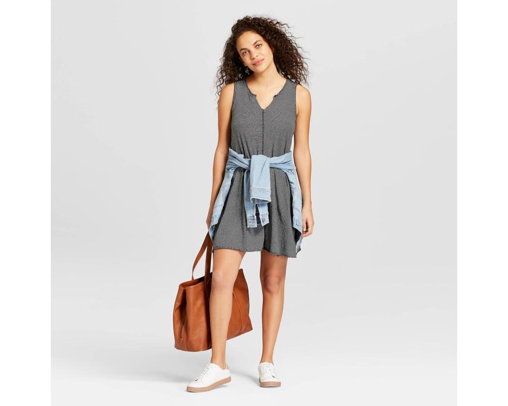 Women's Knit Stripe Tank Dress