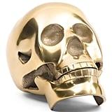 Metallic Decorative Skull