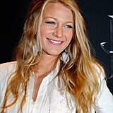 Blake Lively Breaks Out a Lacy Look to Accept Her CinemaCon Award
