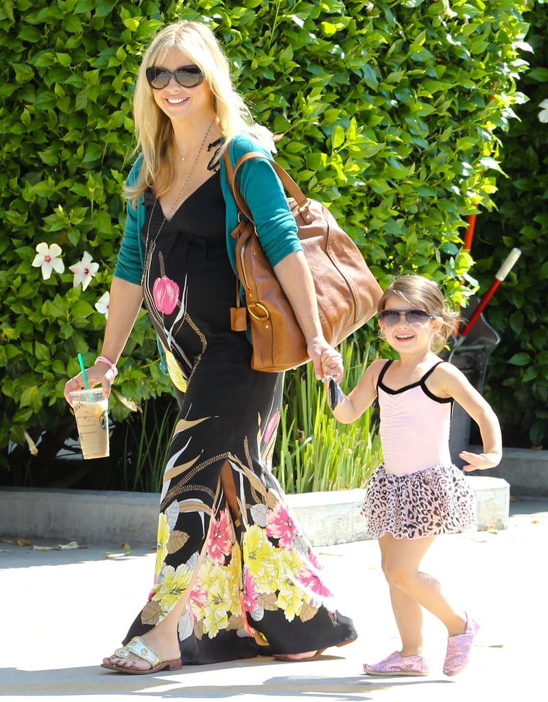 Sarah Michelle Gellar and Charlotte Prinze enjoyed the sunshine in Studio City.