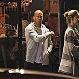 Jason Statham and Rosie in New Orleans